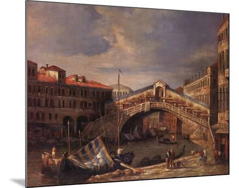 Venice Bridge-Paul Stanley-Mounted Art Print