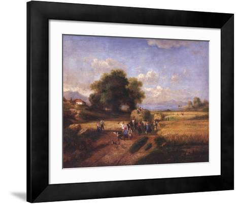 Harvest Celebration-A^ Weller-Framed Art Print
