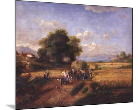 Harvest Celebration-A^ Weller-Mounted Art Print