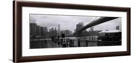River Cafe-Teo Tarras-Framed Art Print