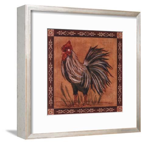 Rooster I-Grace Pullen-Framed Art Print