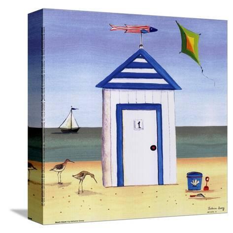 Beach House I-Katharine Gracey-Stretched Canvas Print