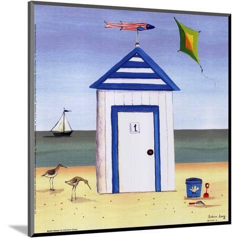 Beach House I-Katharine Gracey-Mounted Art Print