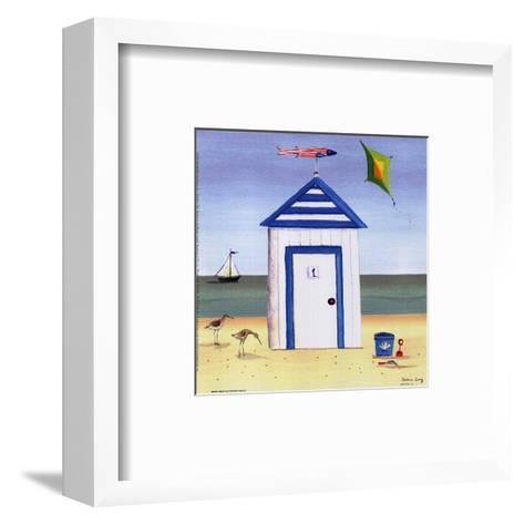 Beach House I-Katharine Gracey-Framed Art Print