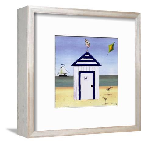 Beach House IV-Katharine Gracey-Framed Art Print