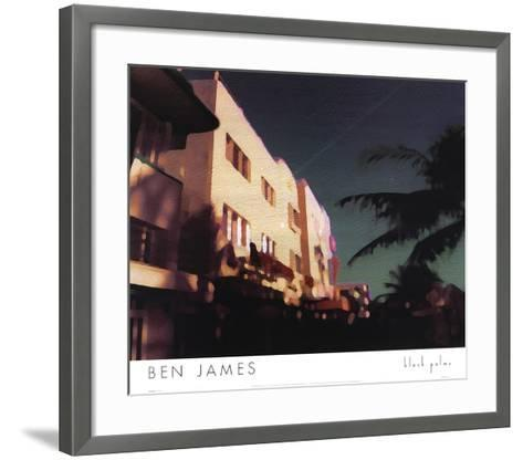 Black Palms-Ben James-Framed Art Print