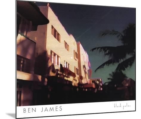 Black Palms-Ben James-Mounted Art Print