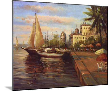 Santo Domingo Harbor--Mounted Art Print