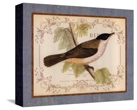 British Birds IV--Stretched Canvas Print