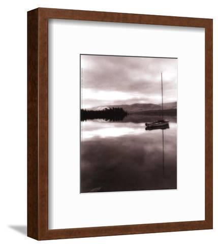 Serenity Lake I-Michael Trevillion-Framed Art Print