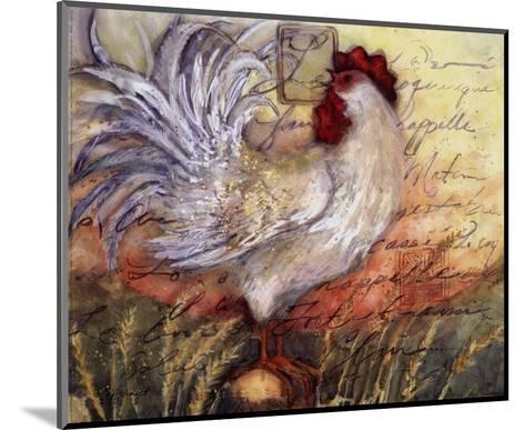 Le Rooster II-Susan Winget-Mounted Art Print
