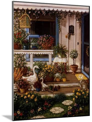 Spring Front Porch-Janet Kruskamp-Mounted Art Print