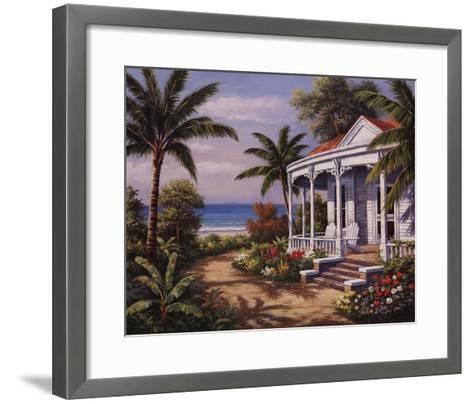 Summer House II-Sung Kim-Framed Art Print