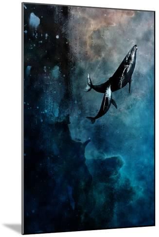 Flying Whales-Alex Cherry-Mounted Art Print
