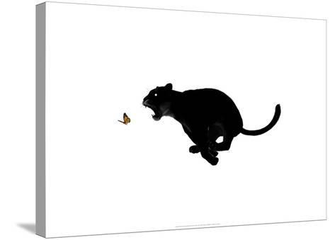 Very, Very Hungry-Alex Cherry-Stretched Canvas Print