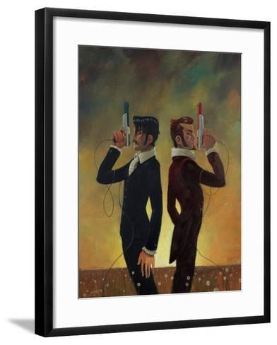 The Duel-Aaron Jasinski-Framed Art Print
