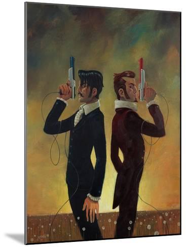 The Duel-Aaron Jasinski-Mounted Art Print