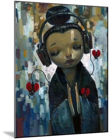She Had Her Sources-Aaron Jasinski-Mounted Art Print