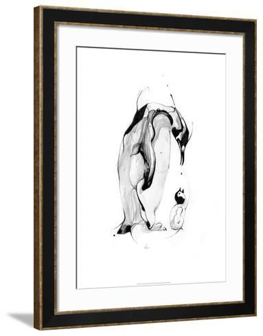 Penguin Fuel-Alexis Marcou-Framed Art Print