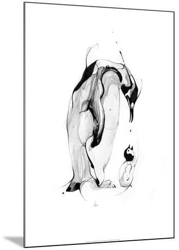 Penguin Fuel-Alexis Marcou-Mounted Art Print
