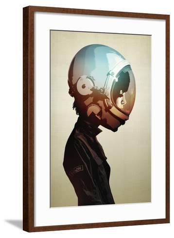 Space Cadet-Hidden Moves-Framed Art Print