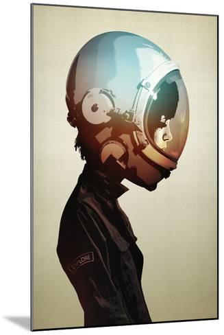 Space Cadet-Hidden Moves-Mounted Art Print