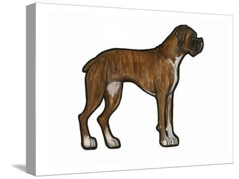 Boxer 2-Sally Pattrick-Stretched Canvas Print