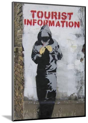 Tourist Information-Banksy-Mounted Art Print