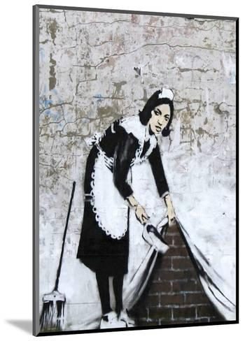 Chamber Maid-Banksy-Mounted Art Print