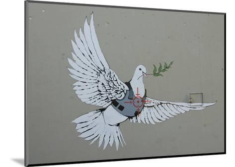 Dove-Banksy-Mounted Art Print