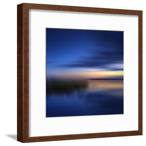Scenery Art Finland Sunset-Melanie Viola-Framed Art Print