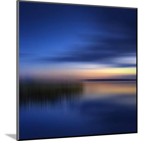 Scenery Art Finland Sunset-Melanie Viola-Mounted Art Print
