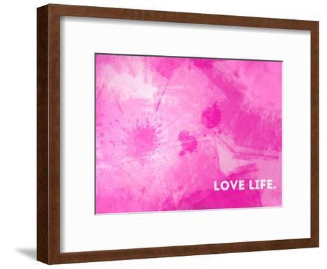 Emotional Art Love Life-Melanie Viola-Framed Art Print