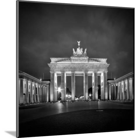 Berlin Brandenburg Gate-Melanie Viola-Mounted Art Print