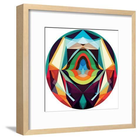 All The Inner_ Worlds-Anai Greog-Framed Art Print