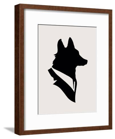 Monsieur Renard-Florent Bodart-Framed Art Print