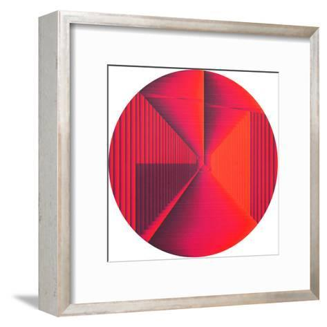 Silence Is Filled With Love-Anai Greog-Framed Art Print