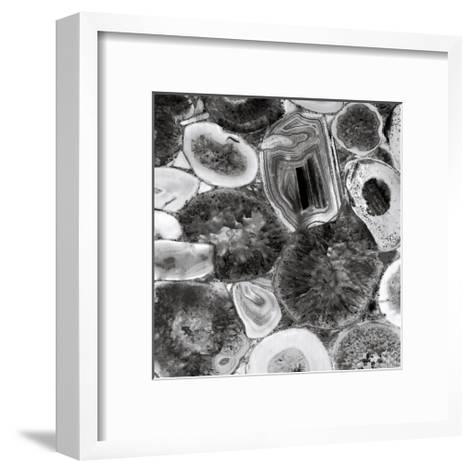 Agate in Grey I-Danielle Carson-Framed Art Print