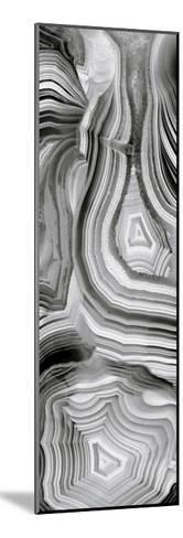 Agate Panel Grey III-Danielle Carson-Mounted Giclee Print