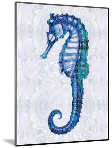 Sea Horse I-Melonie Miller-Mounted Giclee Print