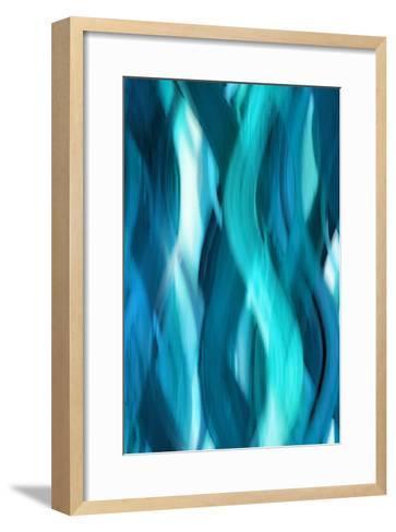 Aqua Flow-Annie Campbell-Framed Art Print