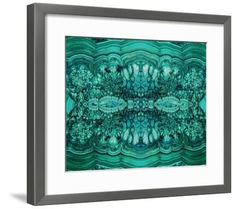 Majestic Malachite-Danielle Carson-Framed Art Print
