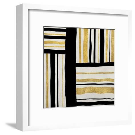 Gilded Groove II-Ellie Roberts-Framed Art Print