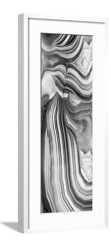 Agate Panel Grey II-Danielle Carson-Framed Art Print
