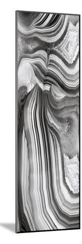 Agate Panel Grey II-Danielle Carson-Mounted Giclee Print
