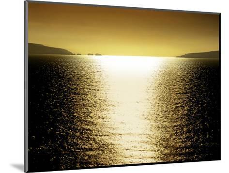 Sunlight Reflection - Golden-Maggie Olsen-Mounted Giclee Print