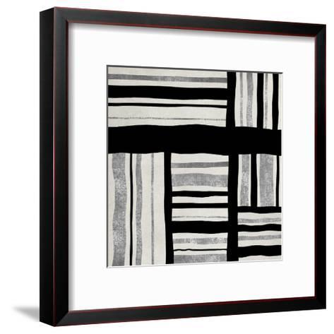 Silver Groove I-Ellie Roberts-Framed Art Print