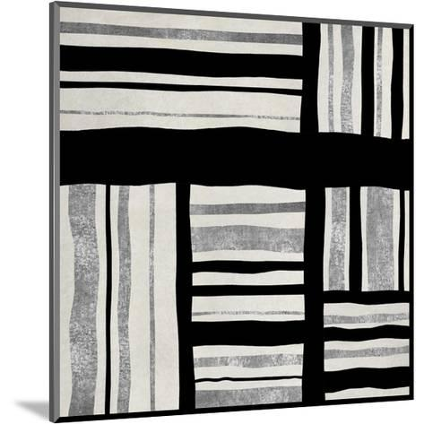 Silver Groove I-Ellie Roberts-Mounted Giclee Print