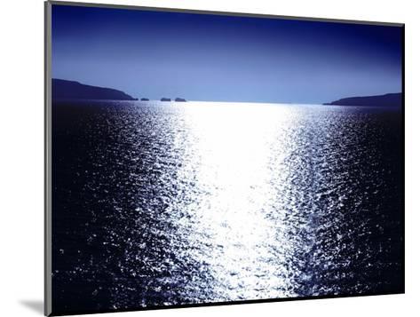 Sunlight Reflection - Blue-Maggie Olsen-Mounted Giclee Print