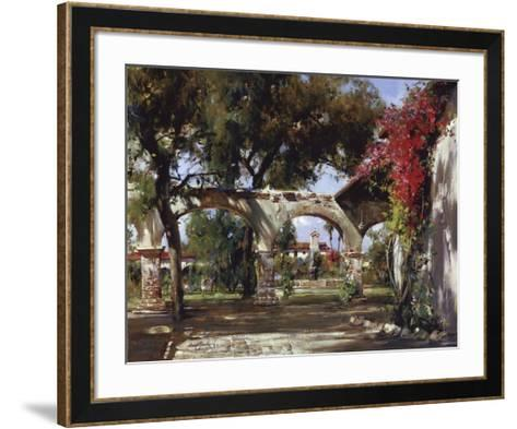 Mission Arches-Cyrus Afsary-Framed Art Print